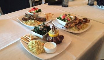 A Taste of The Ivy Mediterranean Lounge