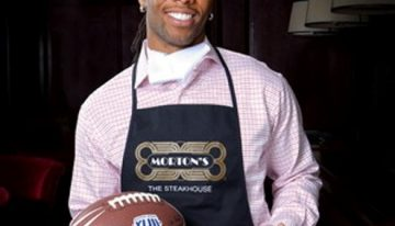 Update: Larry Fitzgerald & Friends Celebrity Servers Night at Morton's