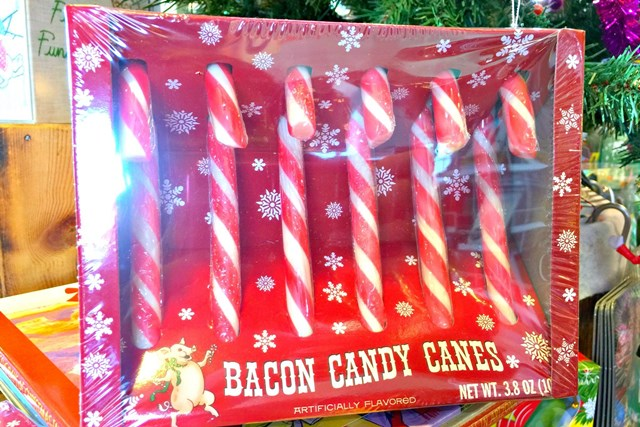 lucis Bacon Candy Canes