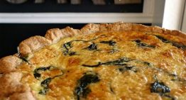Recipe: Spinach and Gruyère Quiche