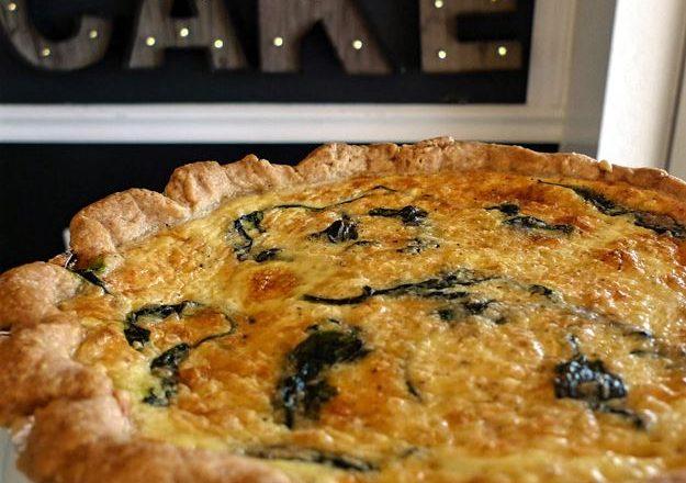 Recipe: Spinach and Gruyère Quiche