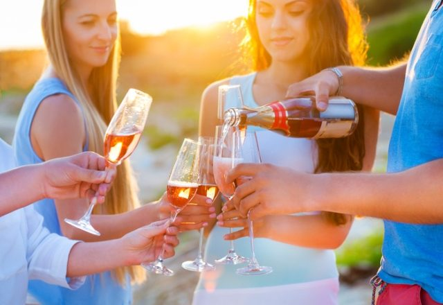 Spring Sipping: Pink Wines