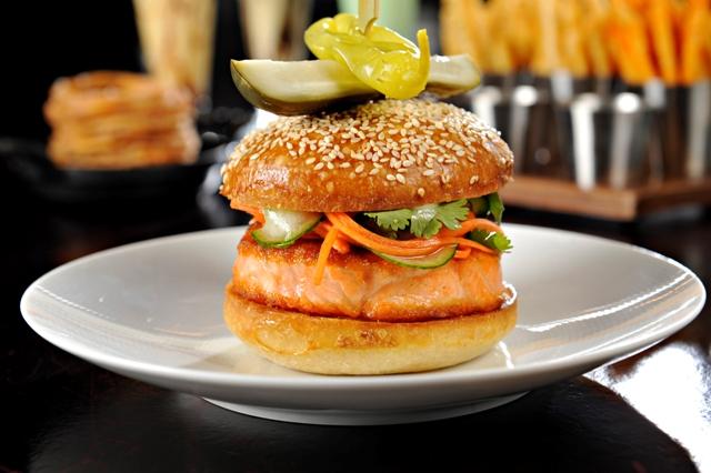 salmonsteakburger