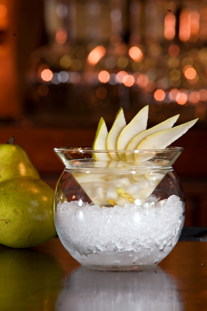 Infused Pear Martini