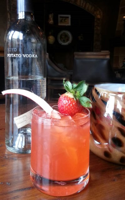 sassi strawberry cocktail