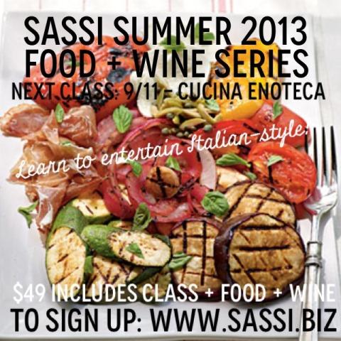 sassi summer food