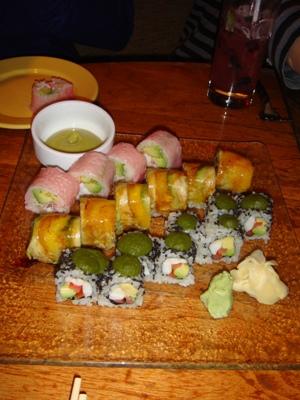 Rolls at Sushi Samba