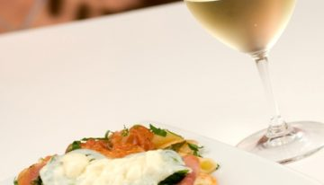 Winemaker dinner at The Cove Trattoria
