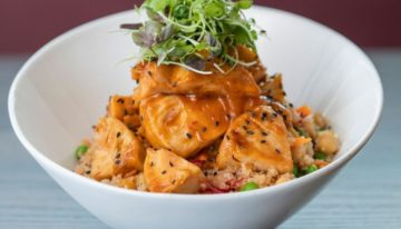 A Taste of New Vegan Dishes at Tryst Cafe