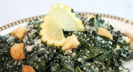National Nutrition Month Recipe: Tuscan Kale Parmesan Salad