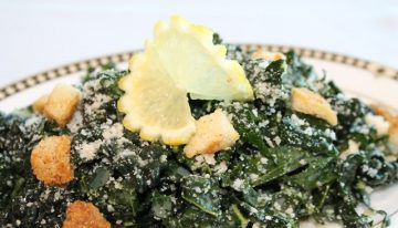 National Nutrition Month Recipe: Tuscan Kale Parmesan Salad