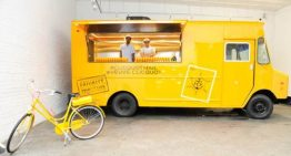 Clicquot Mail Truck in Arizona