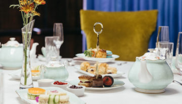 The Wrigley Mansion Introduces New Tea Service