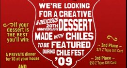 Z'Tejas Hosts Chile Fest Dessert Contest