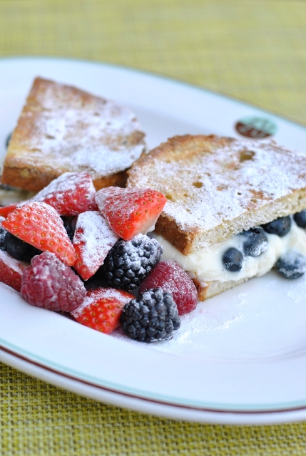 zuzu Gluten-Free Stuffed French Toast