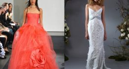 Top 5 Wedding Dress Trends From the Fall 2014 Bridal Runways