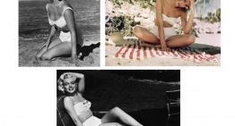 The 1950's Swimsuit Style is Back for Summer 2011