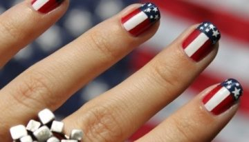 Fourth of july nails valley girl the best do it yourself fourth of july nail art solutioingenieria Choice Image