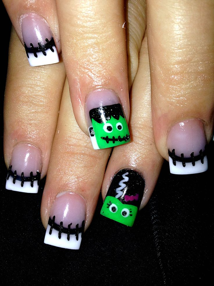 Do It Yourself Halloween Nail Art Inspiration