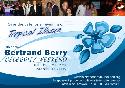 Bertrand Berry Celebrity Weekend