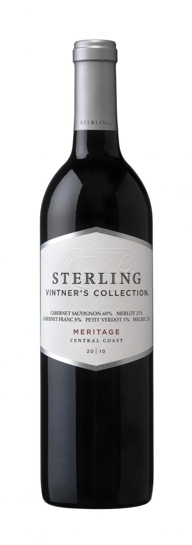 2010 Sterling Vintners Collection Mertage, bottle shot