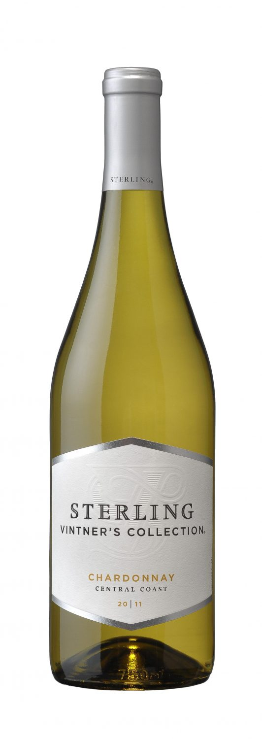 2011 Sterling Vintners Collection Chardonnay, bottle shot