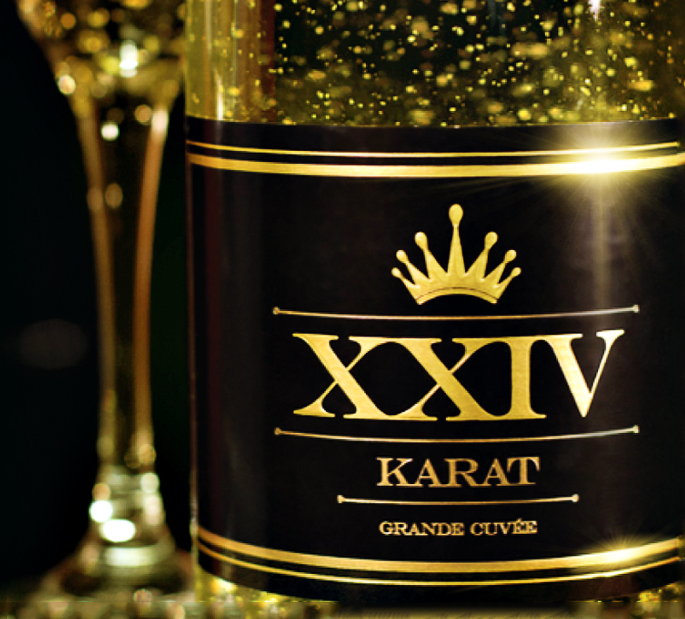 Sip On 24 Karat Gold Leaf With Xxiv Karat Grand Cuv 233 E
