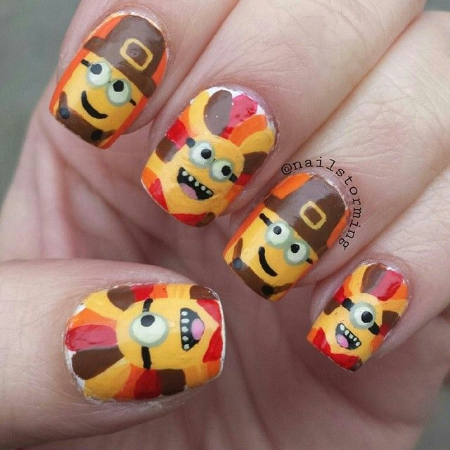 Do it yourself thanksgiving nail art solutioingenieria Images