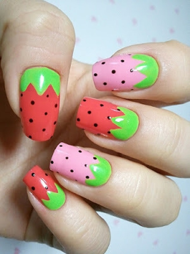 Diy Flirty Fruit Nail Designs For The Summer