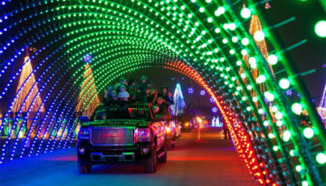 Holiday Lights at Salt River Fields begins Nov. 23 through Dec. 31