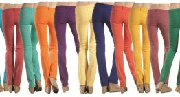 Cheer on Your Favorite Sports Team With Matching Colored Jeans