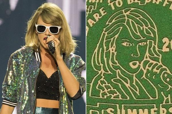 Ultimate Swiftie Creates Taylor Swift Maze Masterpiece