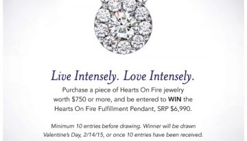 Live Intensely, Love Intensely: Ganem Jewelers Hearts on Fire