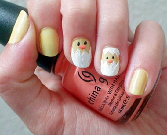 Do It Yourself Easter Nail Art