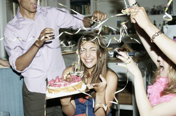 Five Things Every Birthday Girl Is Allowed to Do