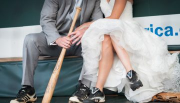 Wedding Theme of the Week: Baseball Theme