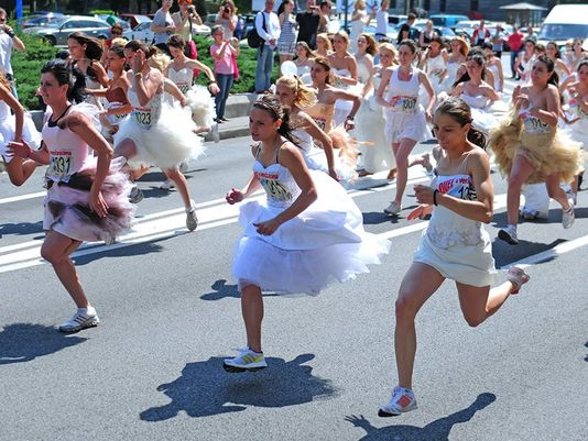 Racing Towards A Dream Wedding