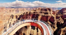 Models Will Dare to Walk the Grand Canyon Skywalk in Haute Couture