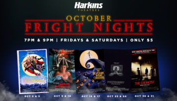 Harkins Theatres Presents October Fright Nights