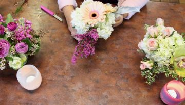 Cactus Flower Florists Hosts Pop Up Shop with glassybaby