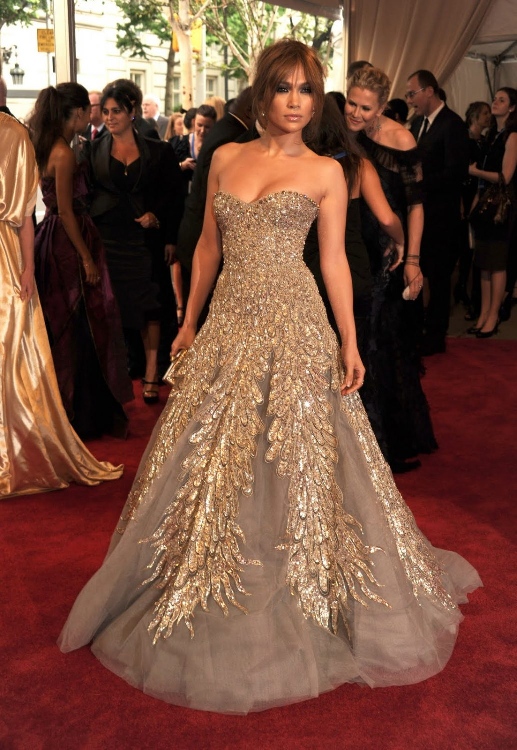 J low at met ball