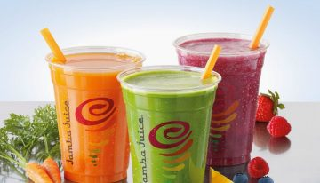 A New Healthy Drink Option at Jamba Juice