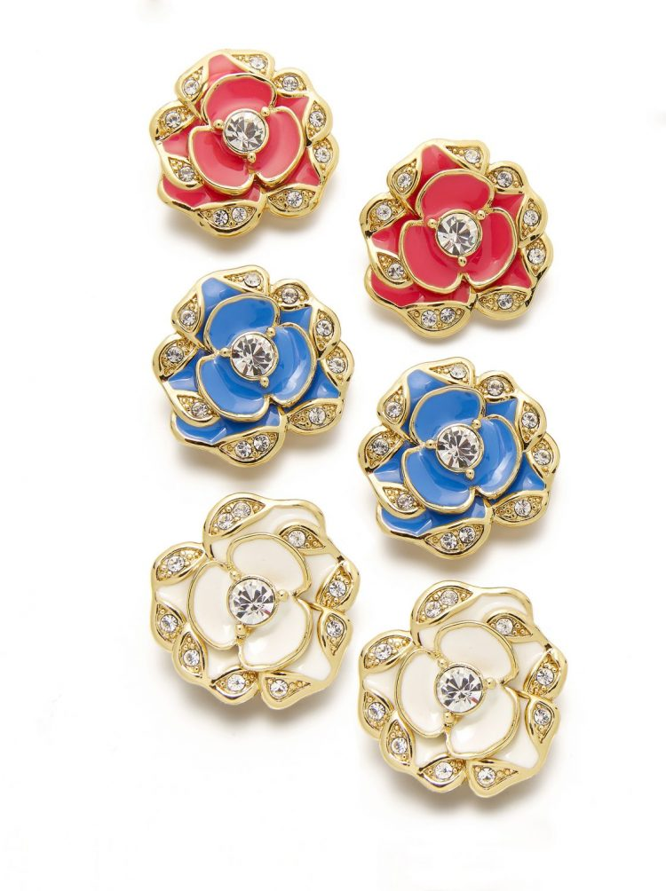 Kate Spade New York Boxed Flower Studs-$58