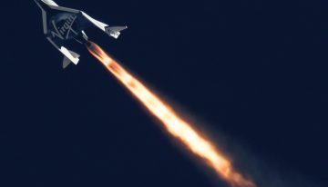 Virgin Galactic's SpaceShipTwo Soars in Rocket-Powered Flight Test