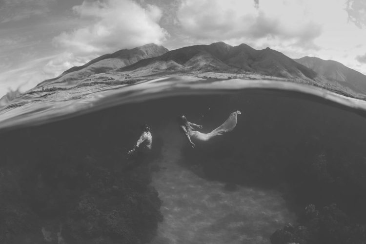 Maui-Underwater-Photography-14-BW