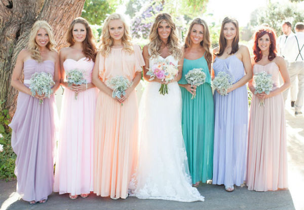 Pastel-Bridesmaids-Dresses