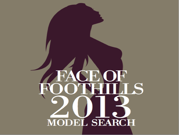 Strike a Pose!: Enter to be Face of Foothills '13