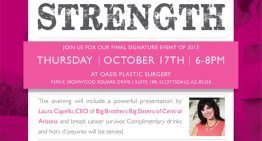 Join Valley Women to Support Breast Cancer Awareness Month at the Honor Your Strength Event