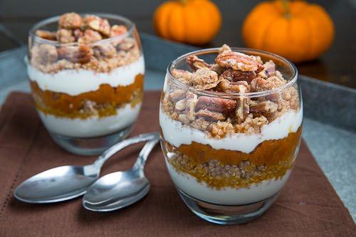 Pumpkin Quinoa Parfait with Pecan Streusel 500 5273