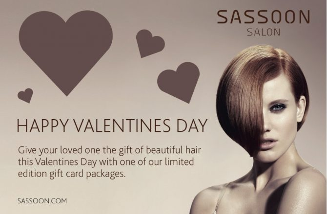 Last-minute Valentine's with Sassoon Salon